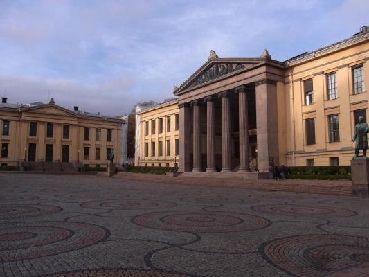 Norwegen, Oslo, Universität