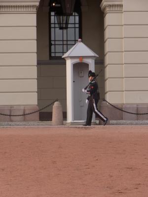 Norwegen, Oslo, Schloss