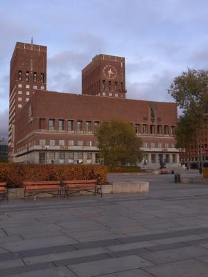 Norwegen, Oslo, Rathaus