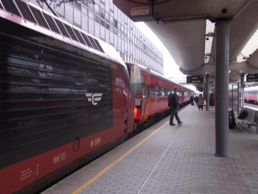 Bahnhof, Norwegen, Oslo