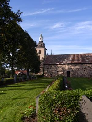 Berg, Kirche, Schweden, Vreta, Östergötland