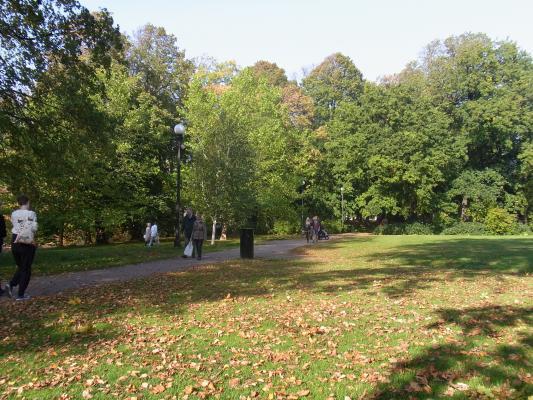 Göteborg, Park, Schweden, Västergötland