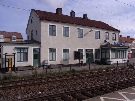 Bahnhof, Blekinge, Emmaboda, Schweden