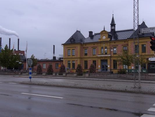 Bahnhof, Linköping, Schweden, Östergötland