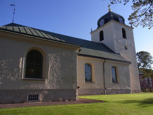 Kirche, Mjölby, Schweden, Östergötland