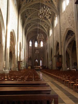 Chambery, Frankreich, Kathedrale, Rhône-Alpes