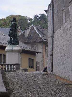 Chambery, Frankreich, Rhône-Alpes, Schloss