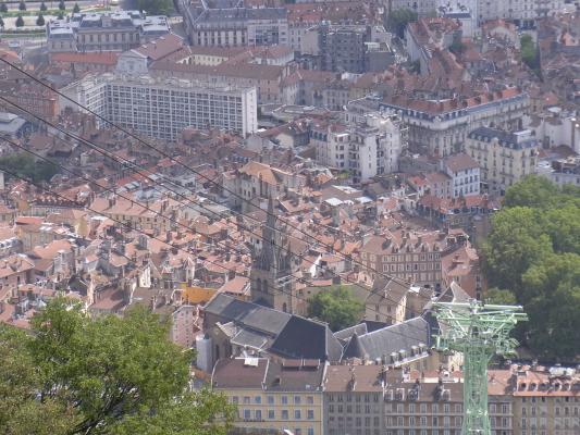 Ausblick, Frankreich, Grenoble, Rhône-Alpes