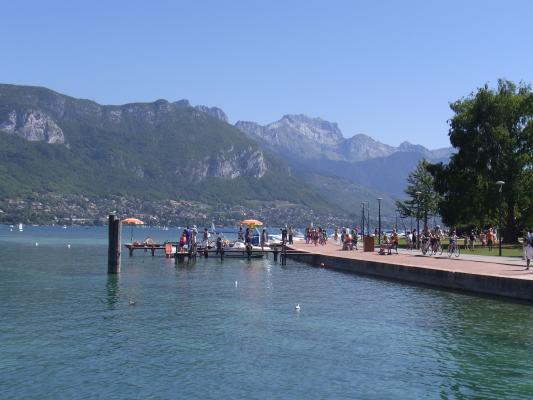 Annecy, Frankreich, Lac d