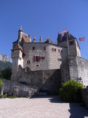 Frankreich, Menthon St. Bernard, Rhône-Alpes, Schloss