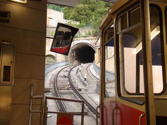 Bergbahn, Frankreich, Lyon, Rhône-Alpes