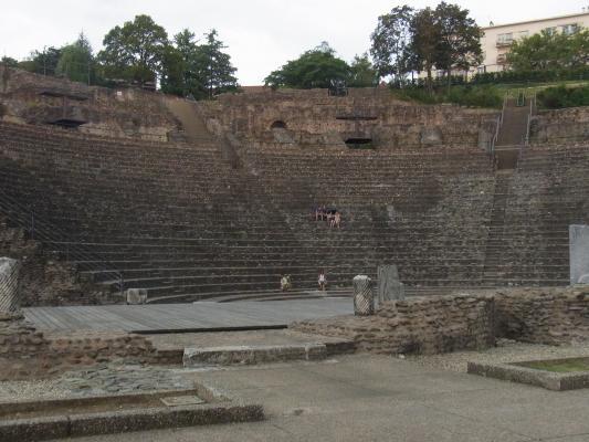 Frankreich, Lyon, Rhône-Alpes, Römisches Theater