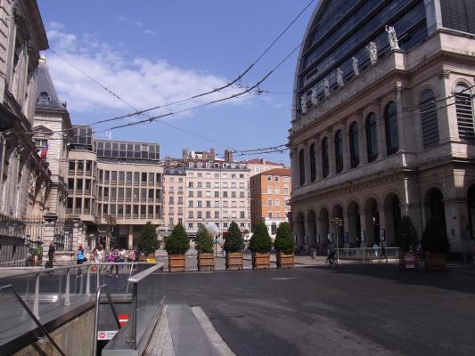 Frankreich, Lyon, Oper, Rathaus, Rhône-Alpes