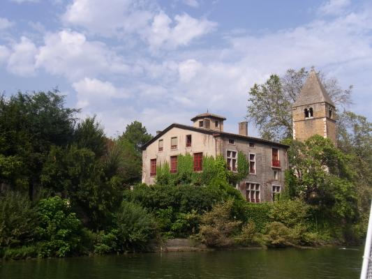 Frankreich, Ile-Barbe, Lyon, Rhône-Alpes