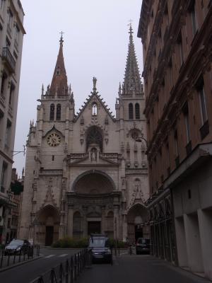 Frankreich, Kirche, Lyon, Rhône-Alpes