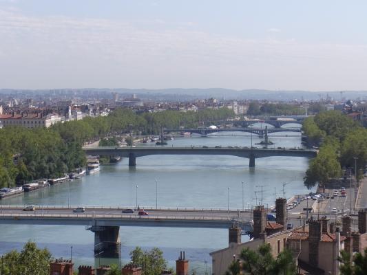 Ausblick, Frankreich, Lyon, Rhône-Alpes