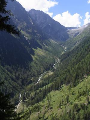 Alpen, Außerretschitz, Gradental, Schobergruppe, Österreich