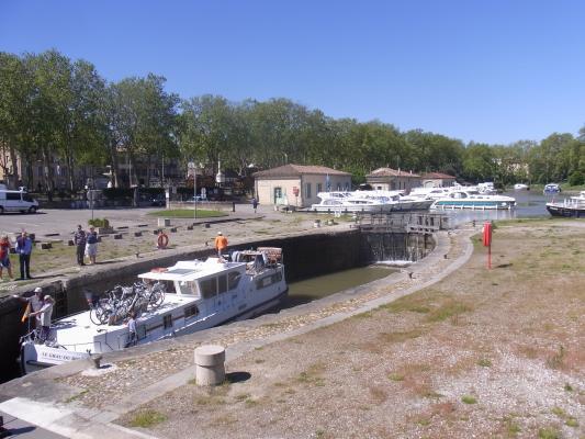 Carcassonne, Frankreich, Hafen, Languedoc-Roussillon
