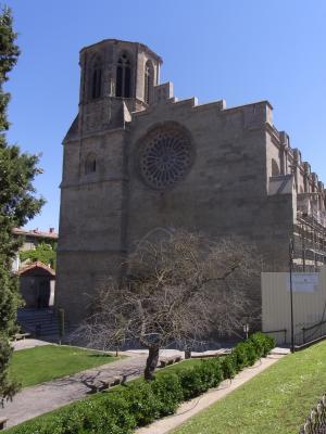 Carcassonne, Frankreich, Kathedrale, Languedoc-Roussillon