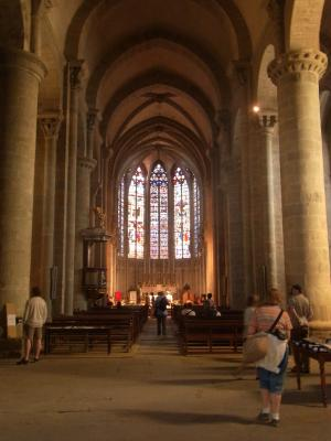 Basilique, Burg, Carcassonne, Frankreich, Languedoc-Roussillon
