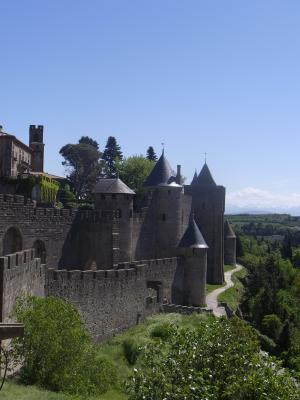 Burg, Carcassonne, Frankreich, Languedoc-Roussillon