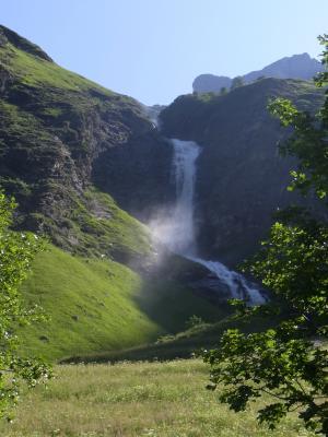 Frankreich, Savoie, Vanoise, Wasserfall