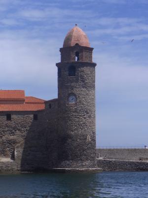 Collioure, Frankreich, Kirche, Languedoc-Roussillon