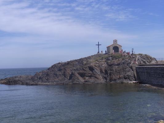 Collioure, Frankreich, Kapelle, Languedoc-Roussillon