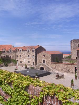 Collioure, Frankreich, Languedoc-Roussillon, Schloss