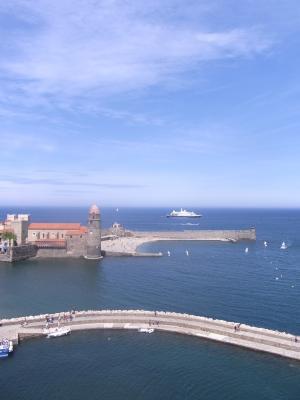 Collioure, Frankreich, Languedoc-Roussillon
