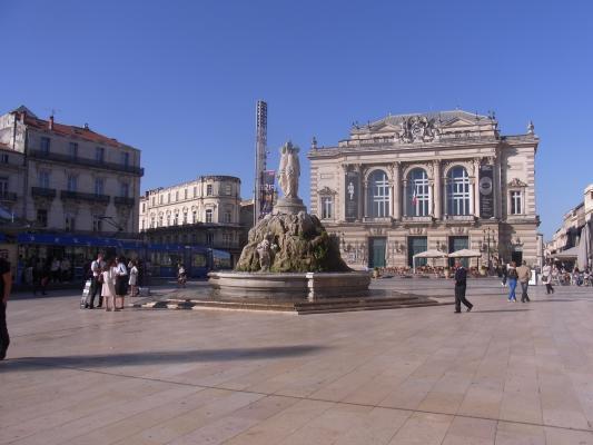 Frankreich, Languedoc-Roussillon, Montpellier, Oper