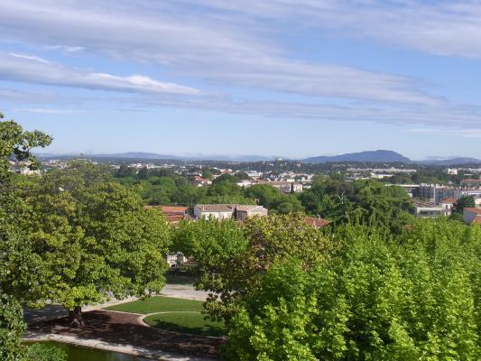 Frankreich, Languedoc-Roussillon, Montpellier, Park