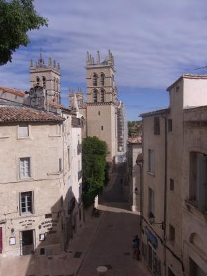 Frankreich, Kathedrale, Languedoc-Roussillon, Montpellier