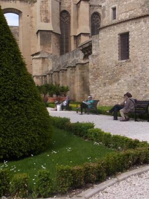Frankreich, Kathedrale, Languedoc-Roussillon, Narbonne, Park