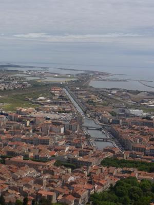Ausblick, Frankreich, Languedoc-Roussillon, Sète