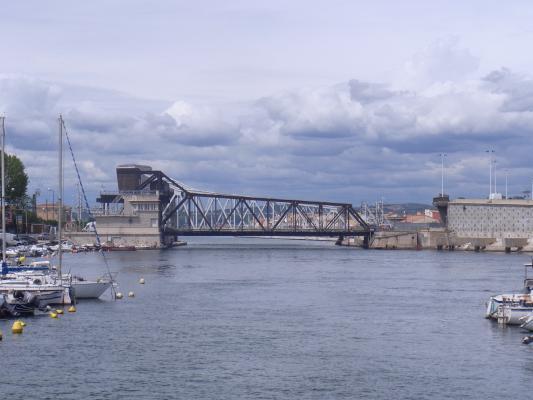 Brücke, Frankreich, Languedoc-Roussillon, Sète