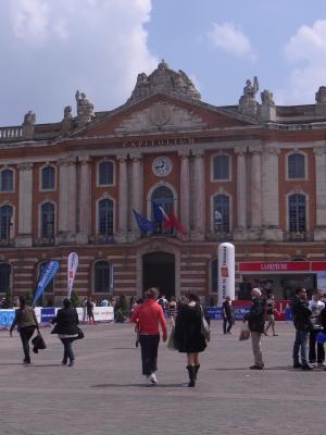 Frankreich, Midi-Pyrénées, Rathaus, Toulouse