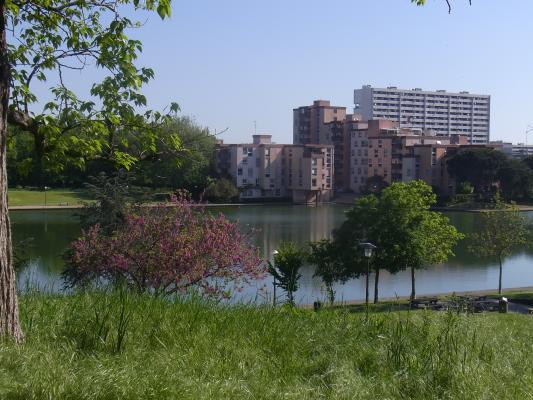 Frankreich, Midi-Pyrénées, Park, Toulouse