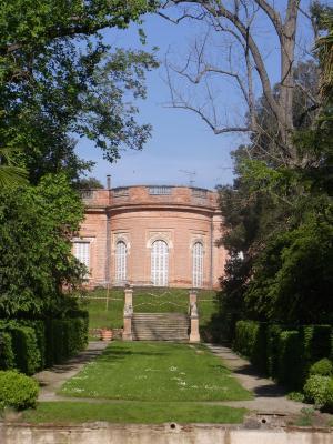 Frankreich, Midi-Pyrénées, Park, Schloss, Toulouse