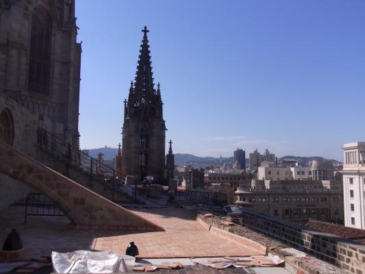 Barcelona, Barri Gotic, Kathedrale, Spanien
