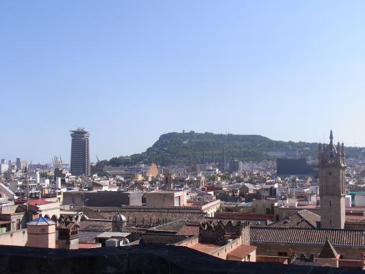 Ausblick, Barcelona, Barri Gotic, Spanien