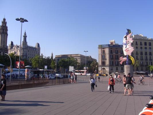 Barcelona, Hafenviertel, Spanien