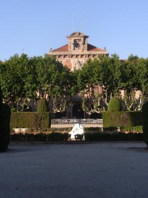 Barcelona, El Born, Park, Parlament, Spanien