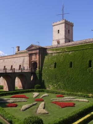 Barcelona, Burg, Montjuic, Spanien