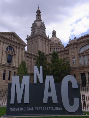 Barcelona, Montjuic, Museum, Spanien
