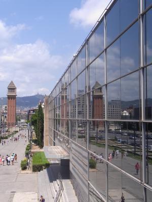 Barcelona, Montjuic, Spanien