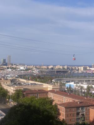 Ausblick, Barcelona, Spanien