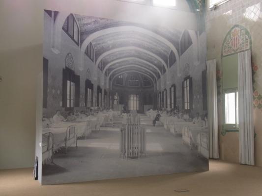 Barcelona, Krankenhaus, Nouveau Art, Spanien