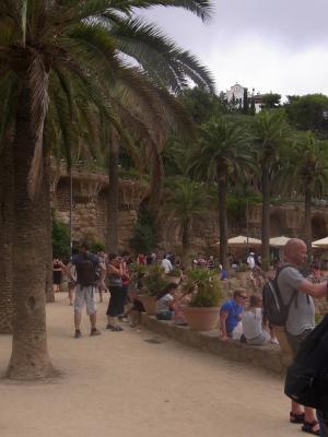 Barcelona, Park, Spanien