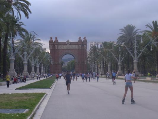 Barcelona, Spanien, Tor